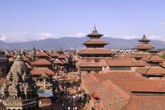 durbar squarein Непала patan Стоковые Изображения RF