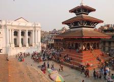Durbarvierkant, Katmandu, Nepal Royalty-vrije Stock Afbeeldingen