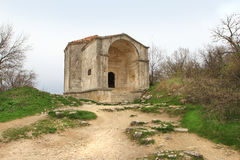 The Durbe (mausoleum) of Djanike Khanum in Chufut-Kale Royalty Free Stock Photography