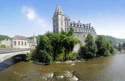 durbuy的城堡 库存图片