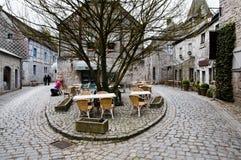 Durbuy - Belgien Arkivfoto