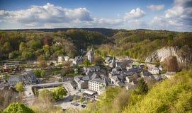 Durbuy in Belgische Ardennen Royalty-vrije Stock Afbeeldingen