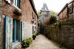 Durbuy - Belgium. Cobble Street in Durbuy - Belgium Stock Photography