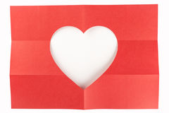 3 durch das Herz mit 2 Weiß Lizenzfreie Stockfotos