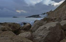 Durch das Meer Lizenzfreie Stockbilder