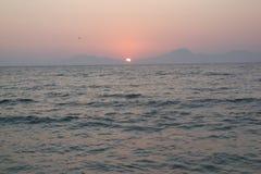 Durch das Meer Lizenzfreies Stockbild