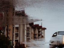 Durch das schauende Glas Lizenzfreie Stockfotografie