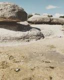 Durch das Ufer Lizenzfreies Stockbild