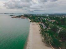 Durch den Strand Stockfotos
