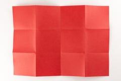 3 durch die Seite mit 4 Rottönen Stockbilder
