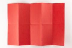 2 durch die Seite mit 5 Rottönen Stockbilder