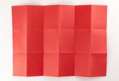 3 durch die Seite mit 6 Rottönen Stockbild