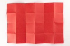 4 durch die Seite mit 6 Rottönen Stockfoto