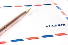 Durch Luftpost stockbilder