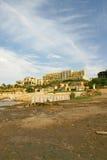 Durch Ufer des Toten Meers Jordanien Lizenzfreie Stockbilder