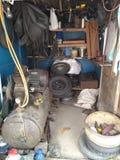 Durchbohren-Shop Stockbild