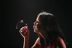 Durchbrennenluftblasen Stockfotografie