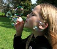 Durchbrennenluftblasen Lizenzfreie Stockfotos