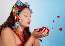 Durchbrennensommerblumen Lizenzfreies Stockbild