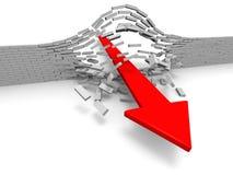 Durchbruch Lizenzfreies Stockfoto