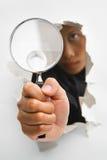 Durchbruch im Untersuchungsprozeß Lizenzfreie Stockfotos