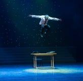Durchbruch-selbststörung des Arbeitskraft-modernen Tanzes des Büros lizenzfreie stockfotos