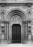 Durchdacht verzierte Kirche Stockfotos