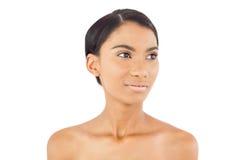 Durchdachte Schönheitsaufstellung Stockfoto