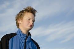 Durchdachter Jugendlicher Lizenzfreie Stockfotos