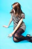 Durchdachtes jugendlich Mädchen 2 Stockfoto