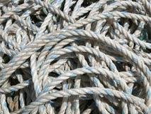 Durcheinander der Seile Lizenzfreies Stockbild