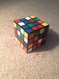 Durcheinandergemischten Rubiks Rache Stockfoto