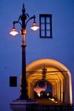 Durchführung in der alten Stadt Lizenzfreies Stockbild