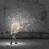Durchführung einer Idee Lizenzfreie Stockfotos