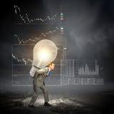 Durchführung einer Idee Lizenzfreies Stockfoto