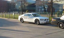 Durchfahrt-Sicherheits-Auto stockbilder