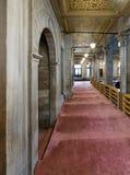 Durchgang in Eyup Sultan Mosque, Istanbul, die Türkei Lizenzfreies Stockbild