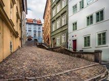 Durchgang im Prag-Schloss-Bezirk lizenzfreies stockfoto