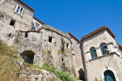 Durchgang. Maratea. Basilikata. Italien. stockbild