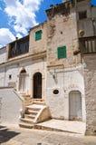 durchgang Minervino Murge Puglia Italien Lizenzfreie Stockfotos
