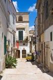 durchgang Minervino Murge Puglia Italien Stockfotografie