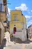 durchgang Minervino Murge Puglia Italien Stockbild