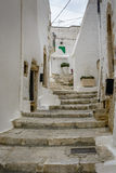 Durchgang in Ostuni, Puglia, Italien Stockfoto