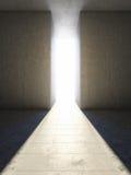 Durchgang zum Licht stockfotos