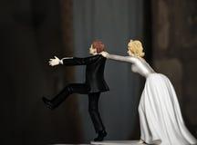 Durchgehen-Bräutigam Stockfotos