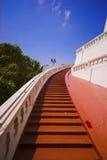 Durchgehendes Treppenhaus ot der Erfolg Stockbild