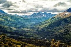 Durchlauf Alaskas Hatcher stockfotos
