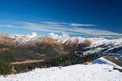 Durchlauf Snowy Loveland Stockfotografie