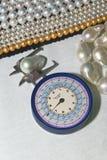 Durchmesser der Perlen Lizenzfreies Stockbild