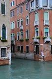 Durchschnitt der Kanäle in Venedig lizenzfreie stockfotografie
